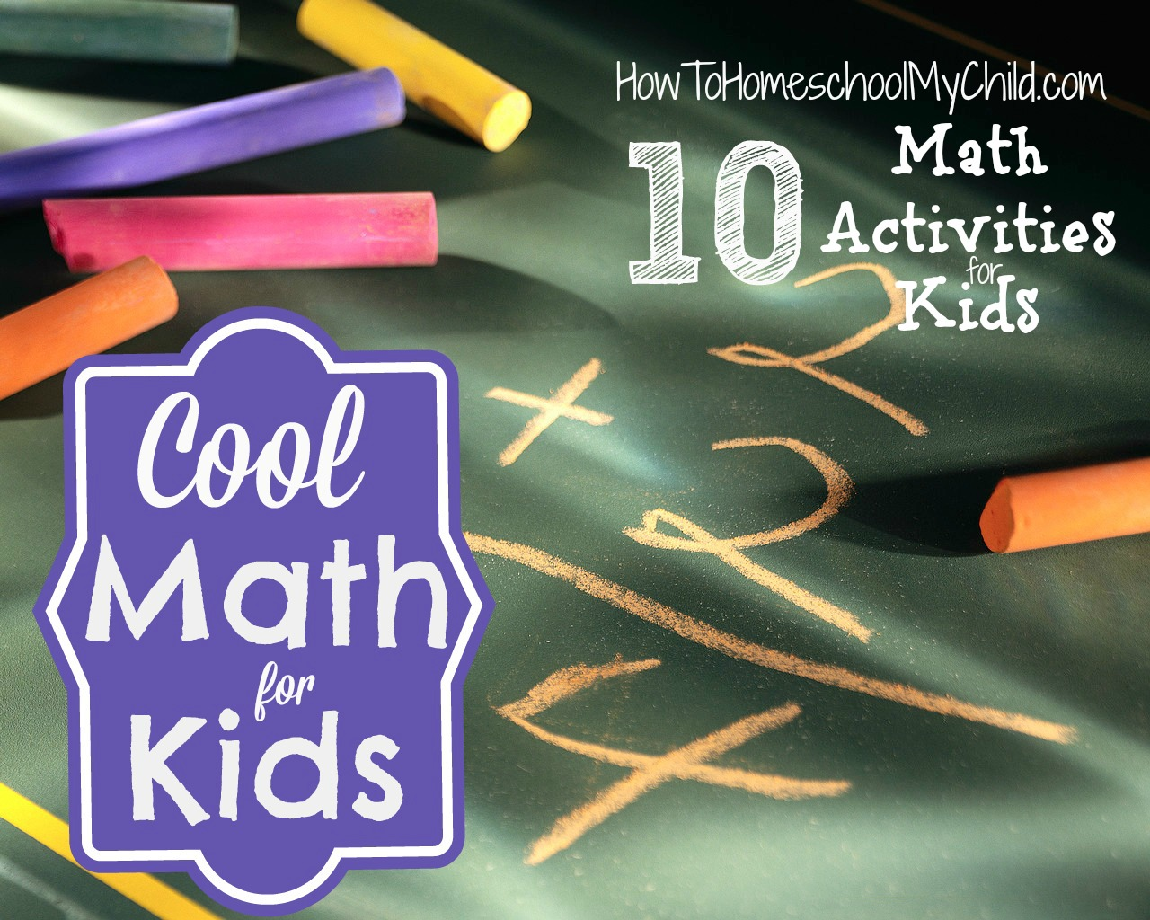 Cool Math for Kids {Weekend Links} - How To Homeschool My Child