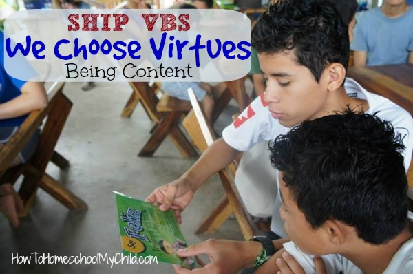 Teaching character with parenting cards of We Choose Virtues ~ recommended by HowToHomeschoolMyChild.com