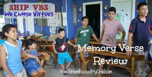Memory Verse review games - HowToHomeschoolMyChild.com