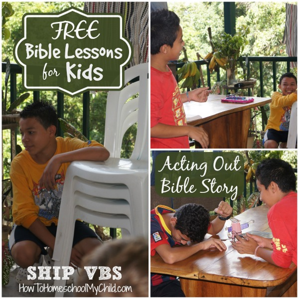 FREE Bible Lessons for Kids - Contentment {SHIP VBS Day 5 & Giveaway