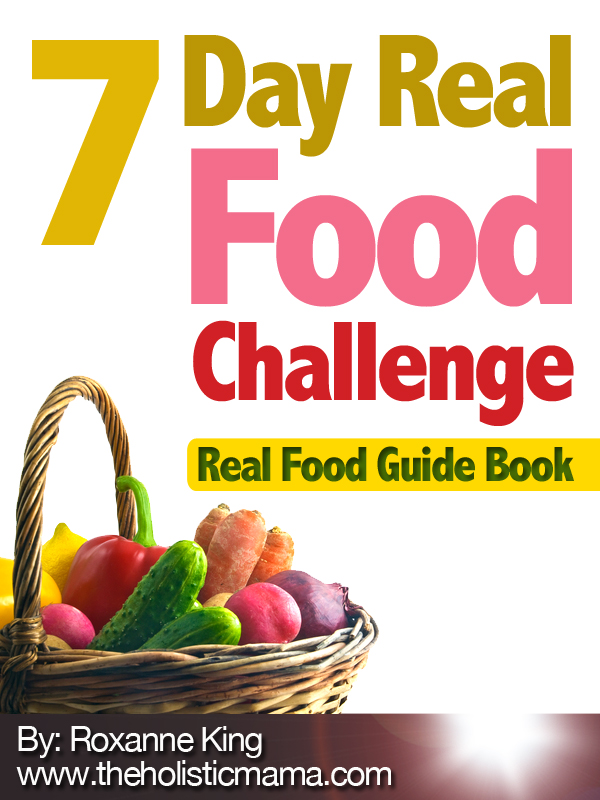 easy healthy meals from 7 Day Real Food Challenge {Book Review} from HowToHomeschoolMyChild.com