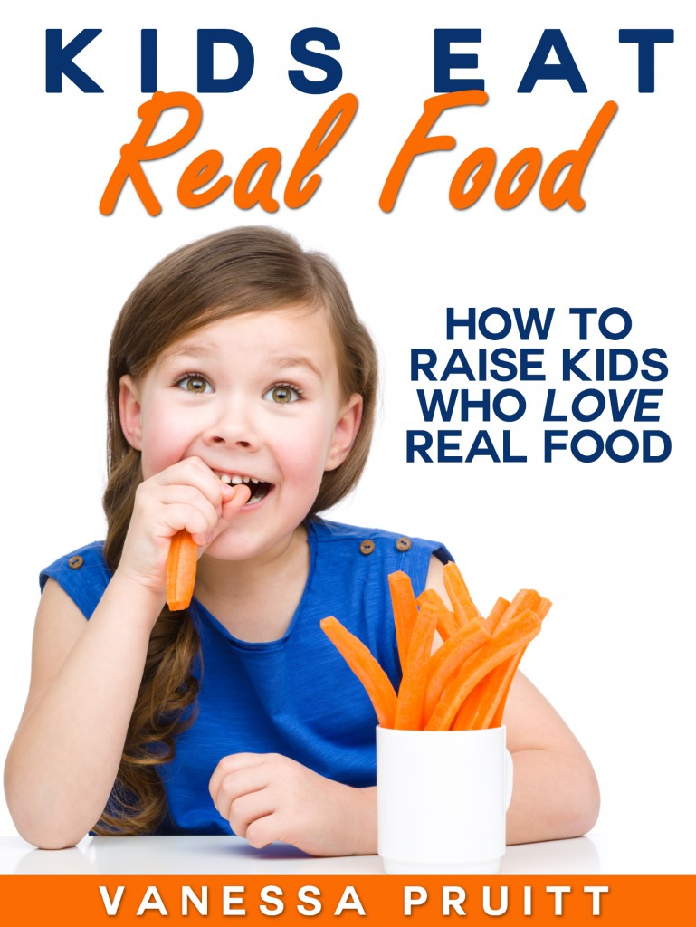 help your kids eat easy healthy meals with Kids Eat Real Food {Book Review} from HowToHomeschoolMyChild.com