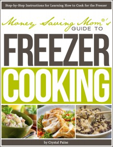 easy healthy diet & meals from Money Saving Mom's Guide to Freezer Cooking