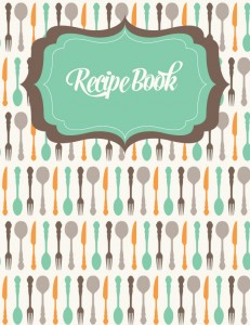 organize your easy healthy meals with the Recipe Binder Pack