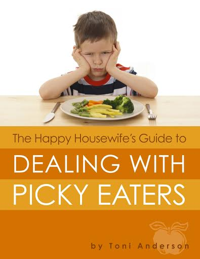 easy healthy meal ideas from The Happy Housewife's Guide to Dealing with Picky Eaters {Book Review} from HowToHomeschoolMyChild.com