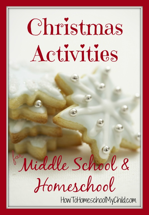 Christmas Activities For Middle School Elementary