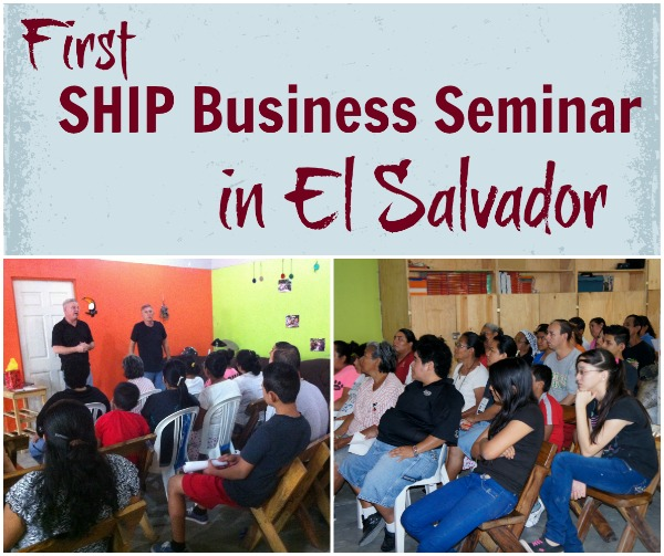 helping ladies in 3rd world countries w/ micro-businesses - 1st SHIP business seminar from HowToHomeschoolMyChild.com