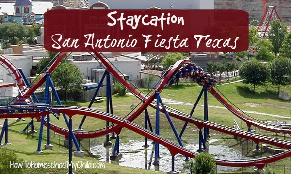 Fiesta Texas has rides for ALL ages - super fun activity for your staycation in San Antonio