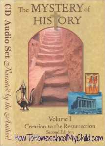 Mystery of History, Volume 1 - Check out our history curriculum that brings history to life! www.HowToHomeschoolMyChild.com