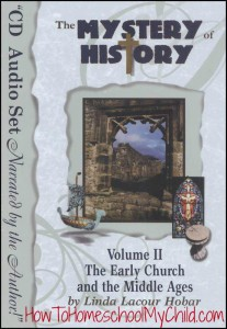 Mystery of History, Volume 2 - Check out our history curriculum that brings history to life! www.HowToHomeschoolMyChild.com