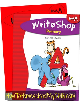 WriteShop Primary Level A; Check out why I love this product at www.HowToHomeschoolMyChild.com