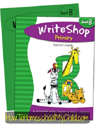 WriteShop Primary Level B; Check out why I love this product at www.HowToHomeschoolMyChild.com
