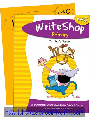 WriteShop Primary Level C; Check out why I love this product at www.HowToHomeschoolMyChild.com
