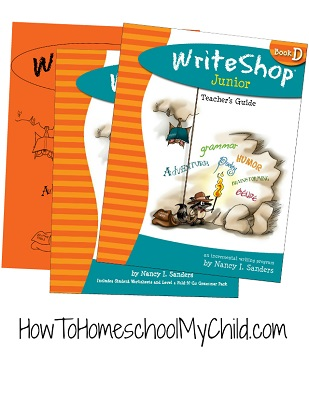 WriteShop Junior Level D; Check out my review at www.HowToHomeschoolMyChild.com