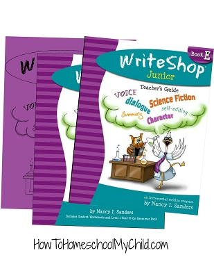 WriteShop Junior - Level E: Check out our review at HowToHomeschoolMyChild.com