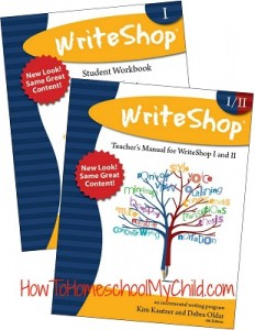 WriteShop 1 & 2; Check out why we love this writing curriculum at www.HowToHomeschoolMyChild.com