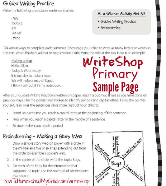 Step-by-step directions for teachers when they use WriteShop - See more from HowToHomeschoolMyChild.com