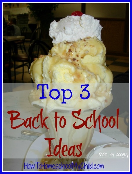 Our favorite back to school ideas ...whether you homeschool, private school or public school