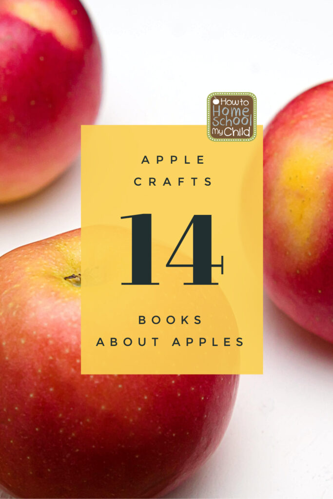 apple crafts with 14 apple books
