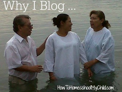 Why I blog ... why do you blog or use social media?