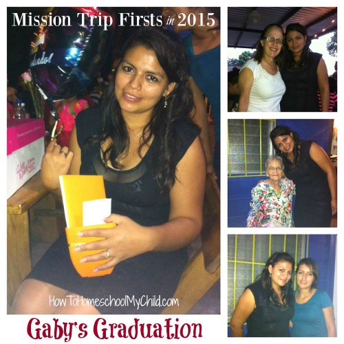 Family MIssion Trip  Firsts - University graduation - If you want to involve your kids in missions, think about sponsoring one of our kids - HowToHomeschoolMyChild.com