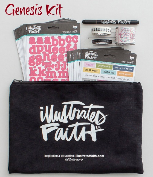 Great starter kit for Bible journaling with Illustrated Faith - Read more at HowToHomeschoolMyChild.com