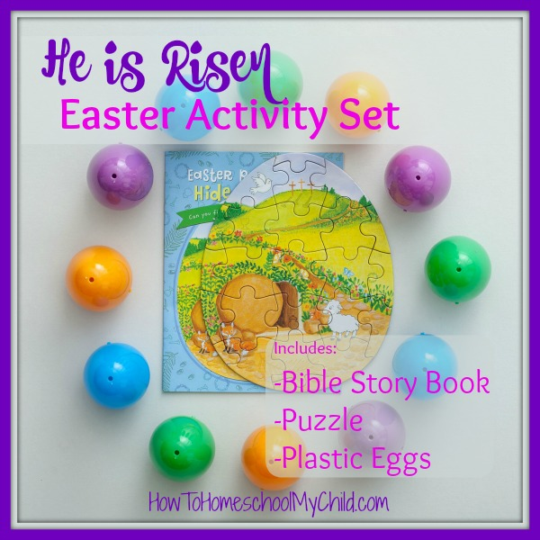 He is Risen Easter Activity Set