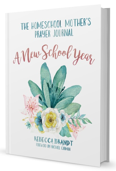 Homeschool Mom's Prayer Journal - A New School Year - Reviewed at HowToHomeschoolMyChild.com