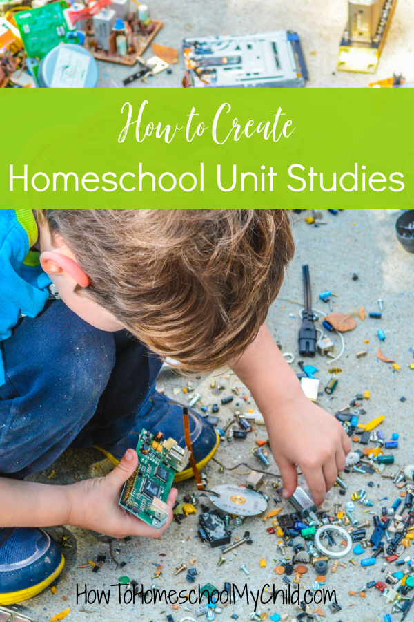 Homeschool Unit Studies - How to Create