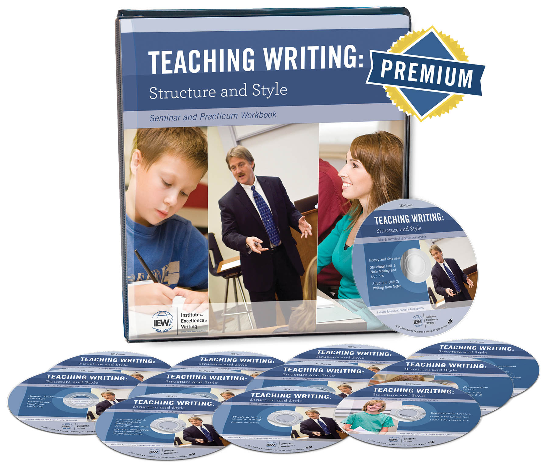 Labor Day Super Deal - You receive $61 BONUS/FREE items when you get IEW Teaching Writing Structure & Style from HowToHomeschoolMyChild.com