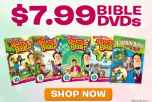 Whats in the Bible? DVDs are the best on the market