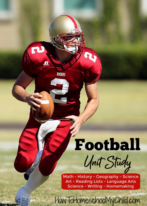 Super Bowl Activities - Football Unit Study