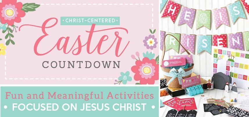 Christian Countdown to Easter review - Perfect way to keep Christ the focus of Easter
