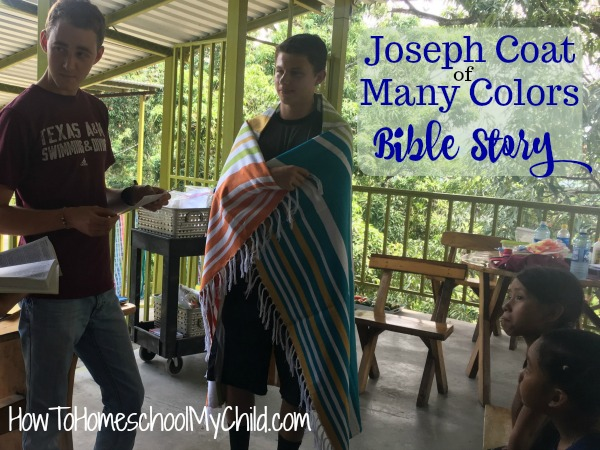Joseph Coat of Many Colors Bible Story & Craft & Snacks - Fun Bible activities for kids
