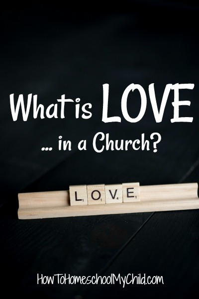 What is love ... God's unfailing love in a church