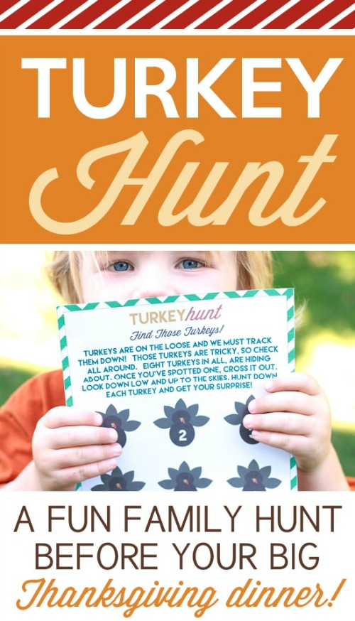 Thanksgiving Bingo - Free thanksgiving games from 30 days of Thanksgiving activities for kids