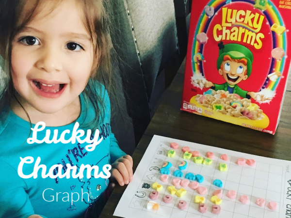 Lucky Charms Graph Activity & St Patrick's Day Activity Guide