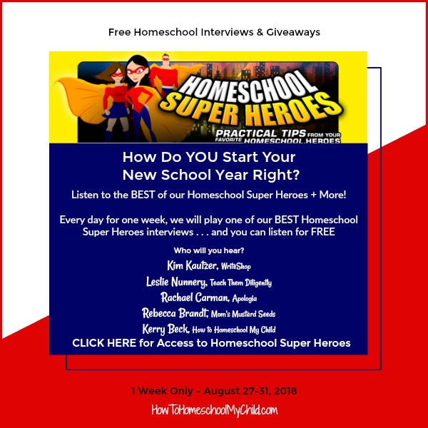 Free Homeschool Interviews & Giveaways