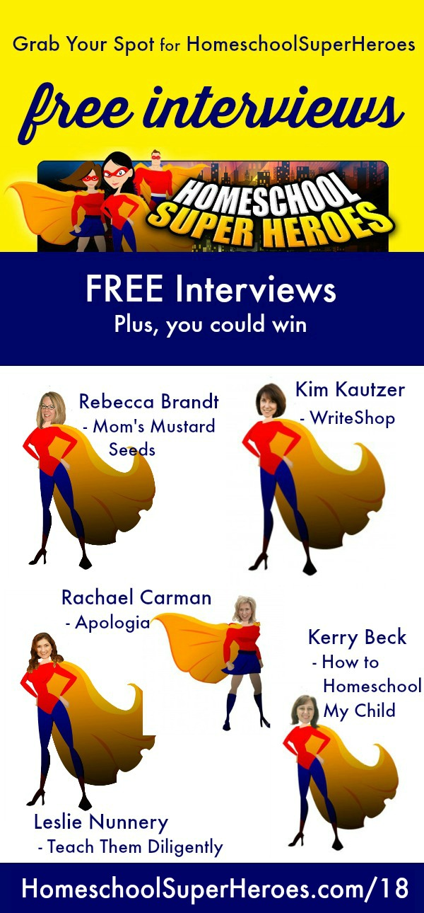 Free Homeschool Interviews from homeschool moms in the trenches...