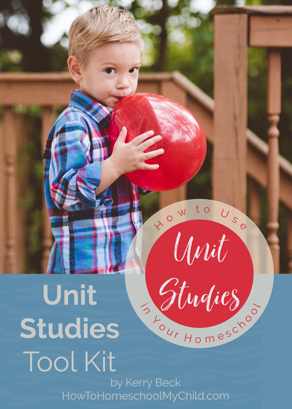 Unit studies are perfect to inspire a love of learning