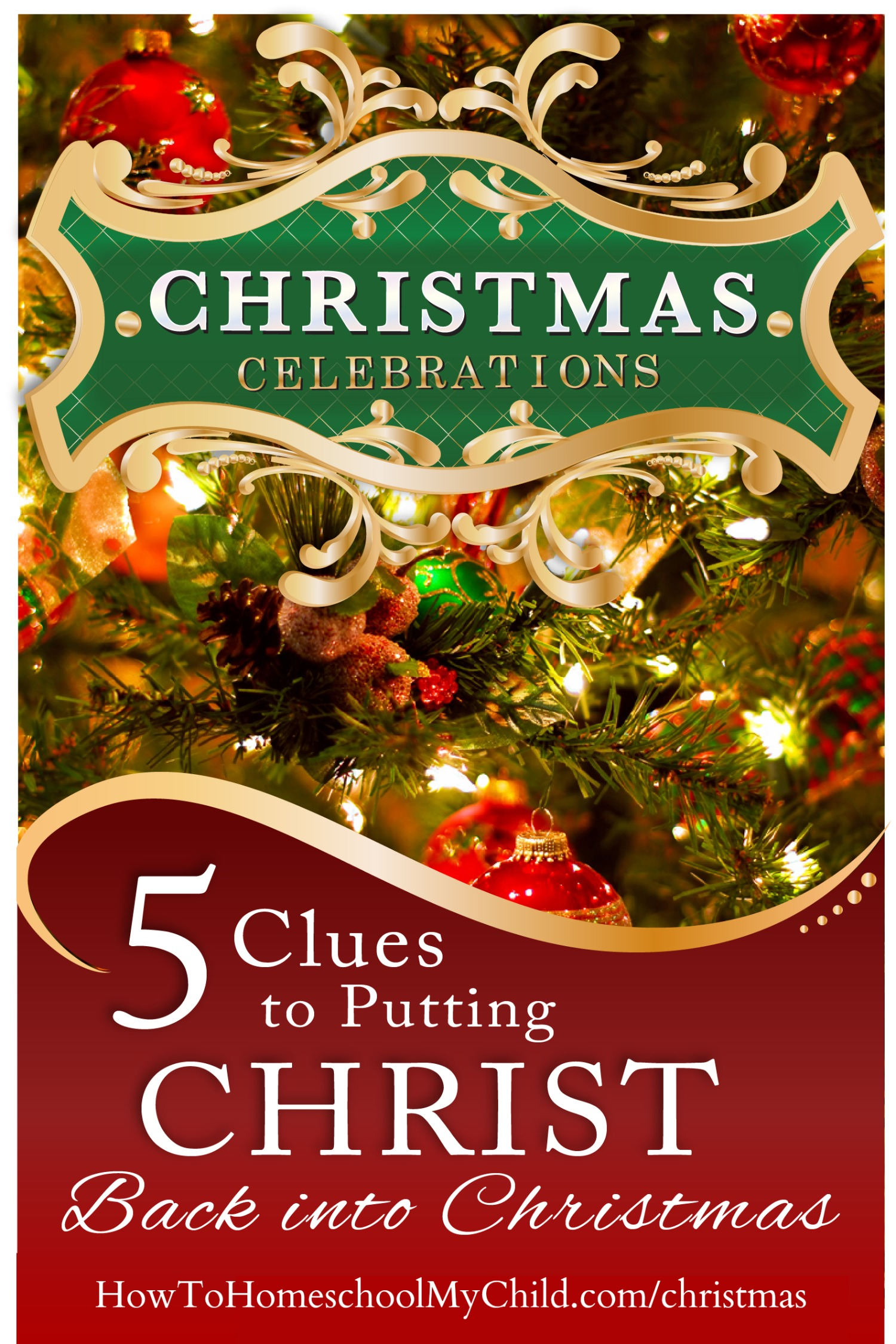 Free Online Workshop - discover how to keep Christ the center of Christmas