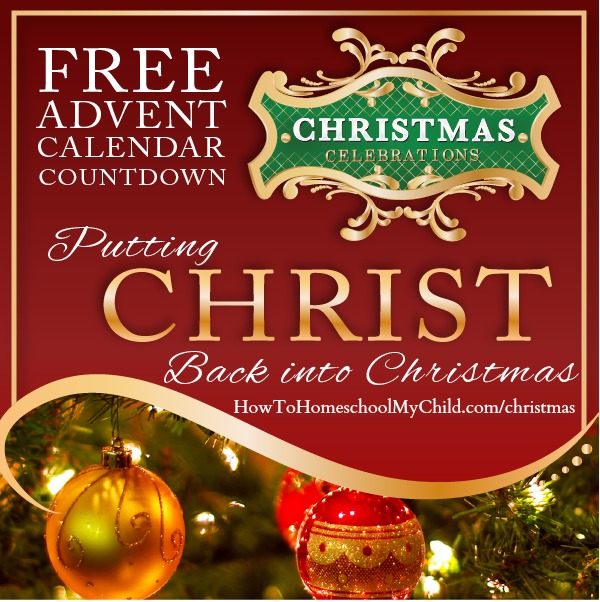 Free Advent Calendar Countdown to Christmas - 25 daily emails to keep Christ the focus of Christmas