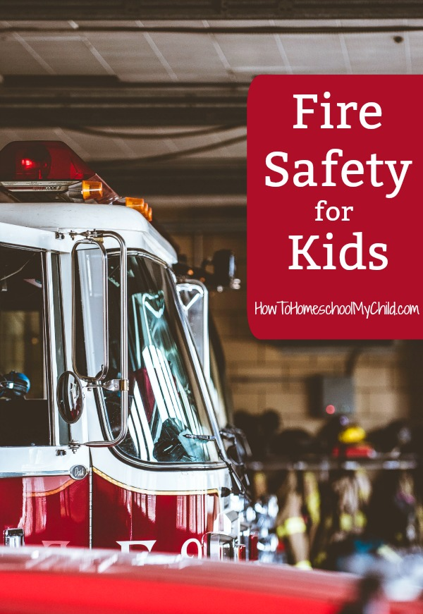 Fun Fire Safety Week activities for your kids - part of fall activities for preschoolers & families