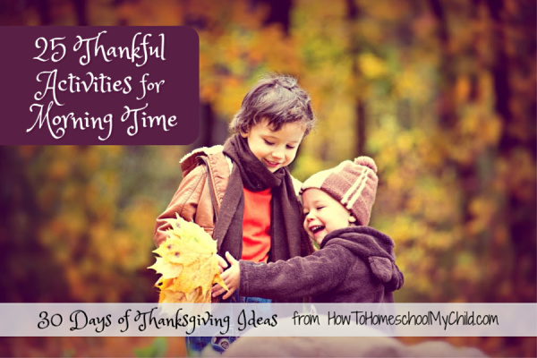 thanskgiving ideas - thankful activities with kids