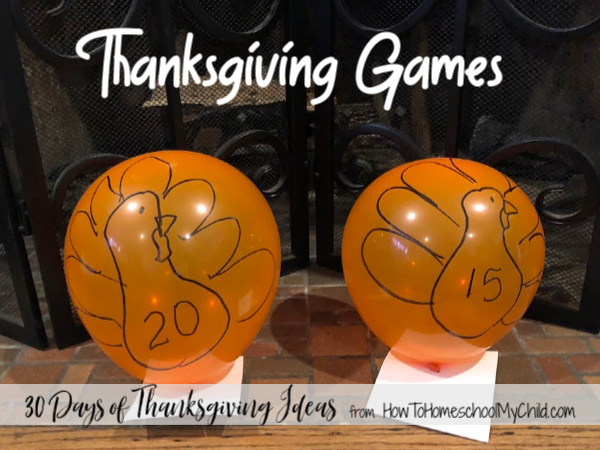 Keep dads & kids entertained with Thanksgiving games for kids