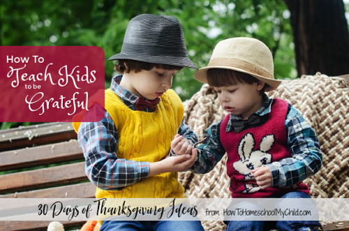 3 Steps on How to Teach Kids to be Grateful