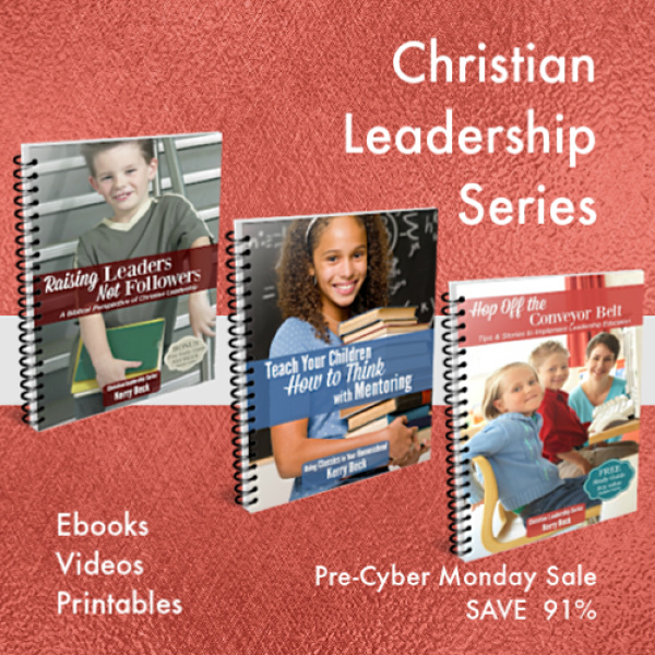Raise your kids to be leaders. Use proven tested methods with Christian Leadership Series