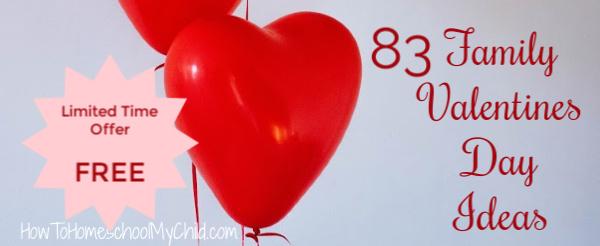 Free Valentines Activities