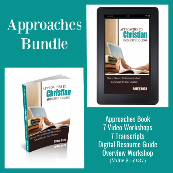 Approaches to Christian Homeschooling Bundle
