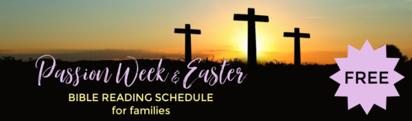 Free Easter Bible Reading Schedule